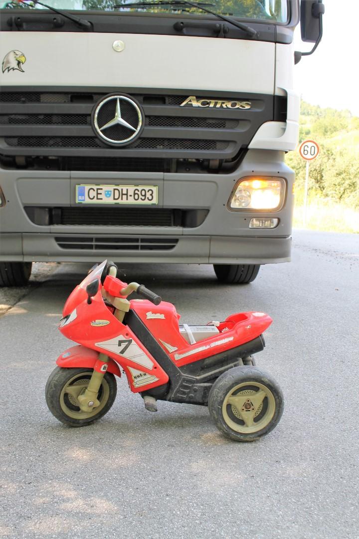 Potrebujete otroški motor?
