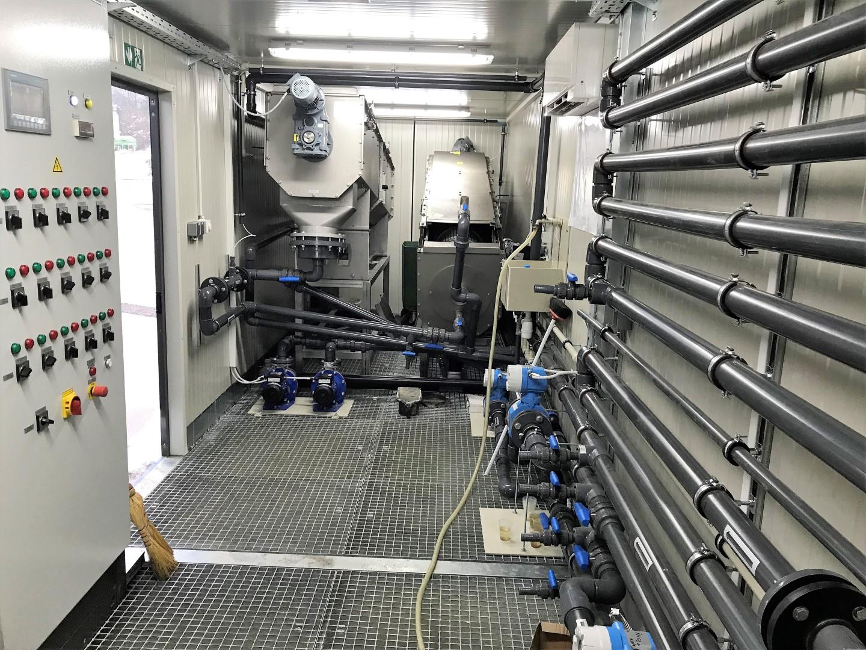 Izcedne vode, ki nastajajo na RCERO Celje, se prečistijo v čistilni napravi, ki je bila letos prenovljena.