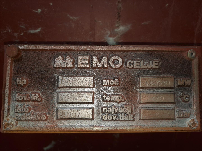 Ploščica z letom izdelave za spomin