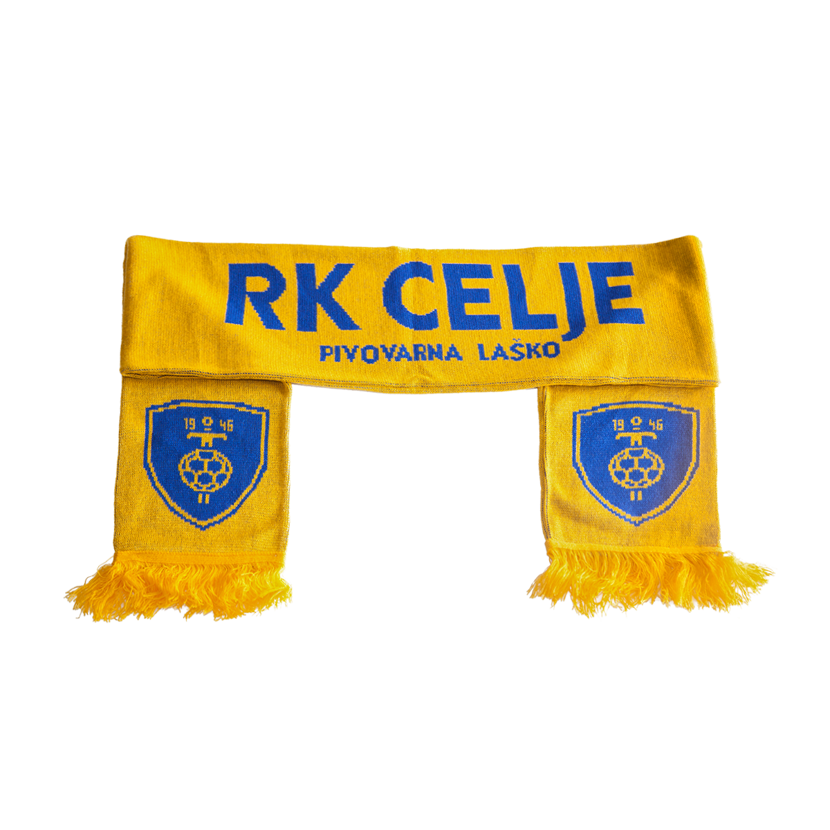 Scarf RK Celje - yellow