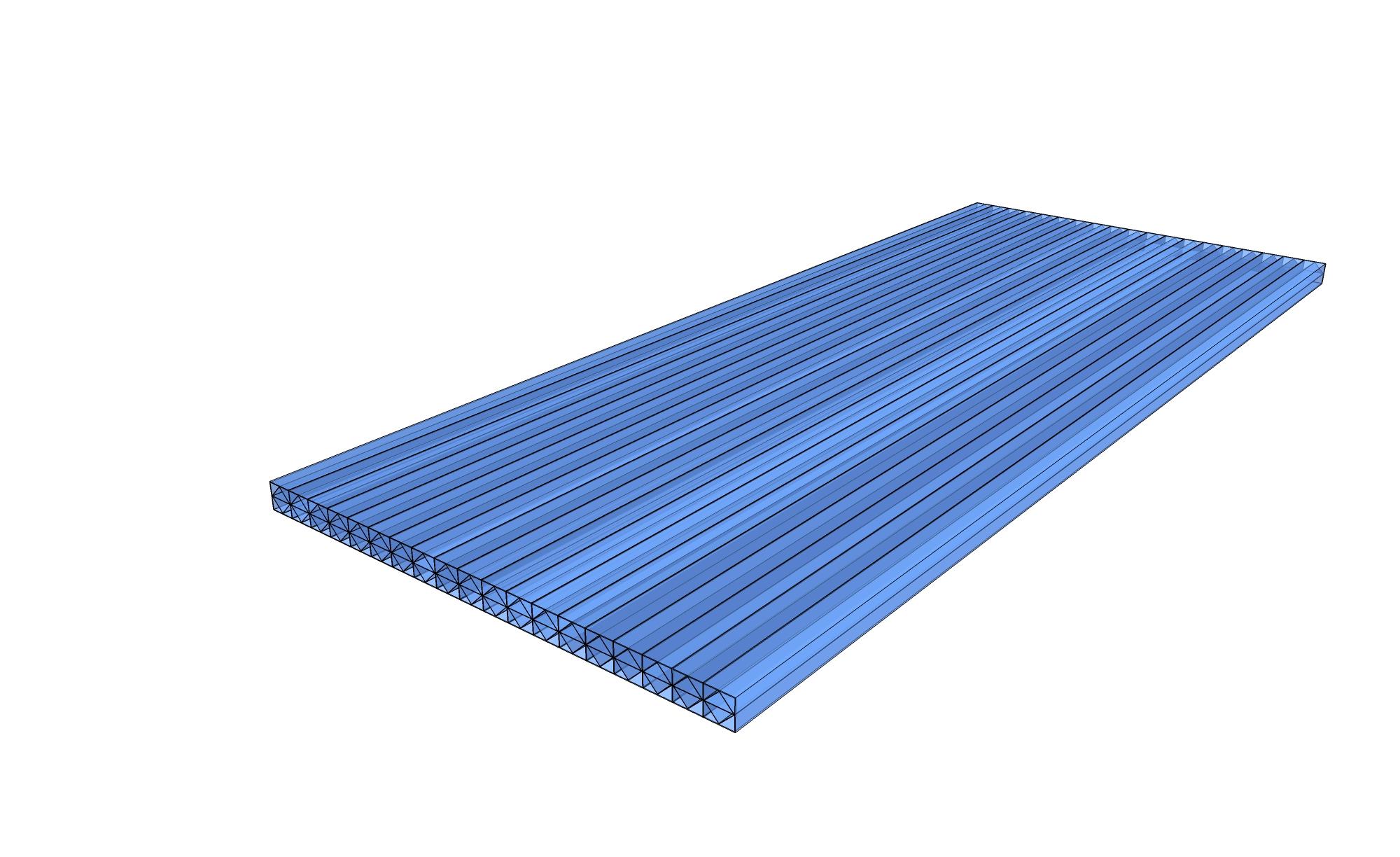 Polycarbonat Stegplatte