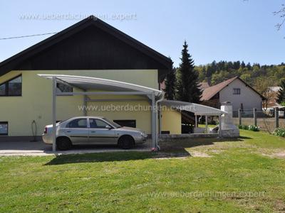 Gašparič J. (Carport für Autos + Terrassenüberdachung)
