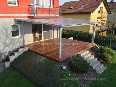 Postružnik U. (Überdachung + Holzterrasse)