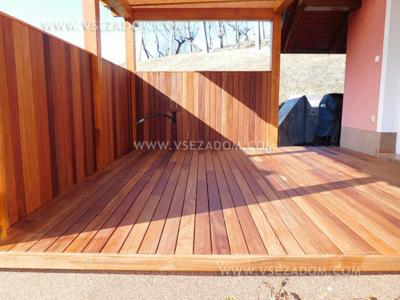 Lorenčak M. (lesena terasa + lesena stena)
