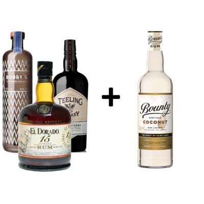 Komplet_Bobbys_Teeling_El_Dorado_Bounty_Coconut_rr_selection_poslovna_darila_spletna_trgovina_alkoholne_pijace_slovenija_gin_rum.png